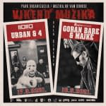 Urban & 4 + Goran Bare & Majke Event - (Visual identity)