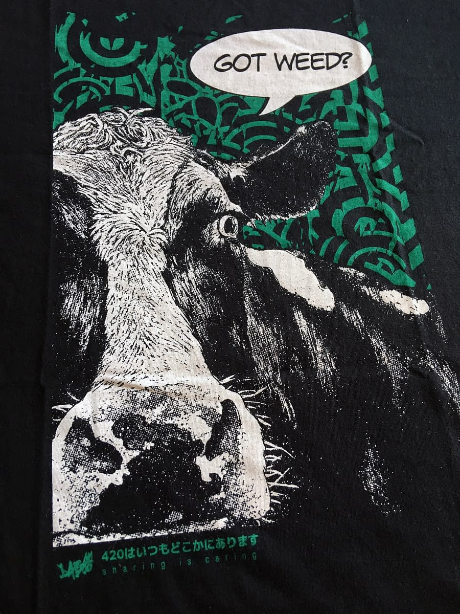 T Shirt Sharing detail