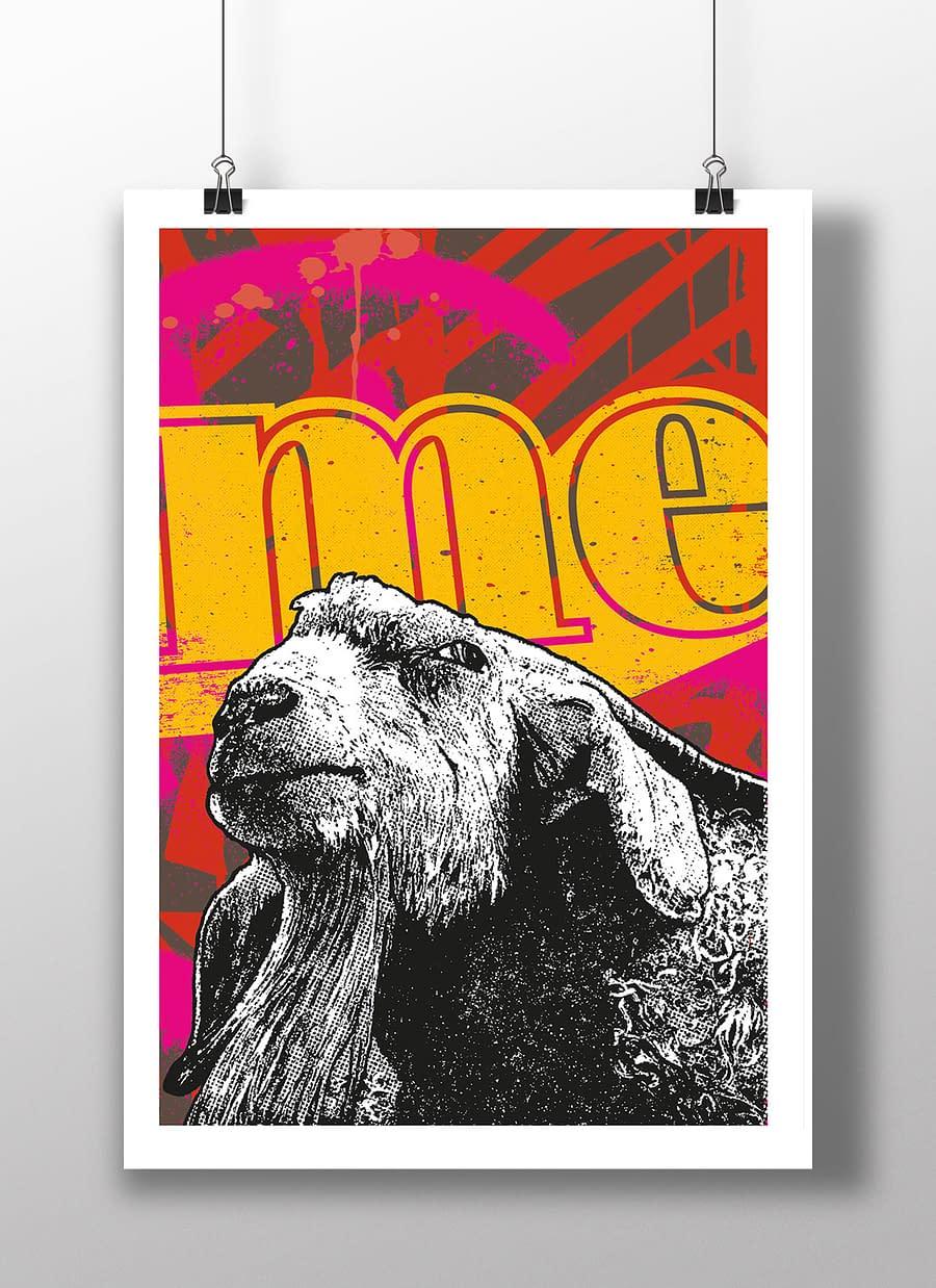 poster goat ME