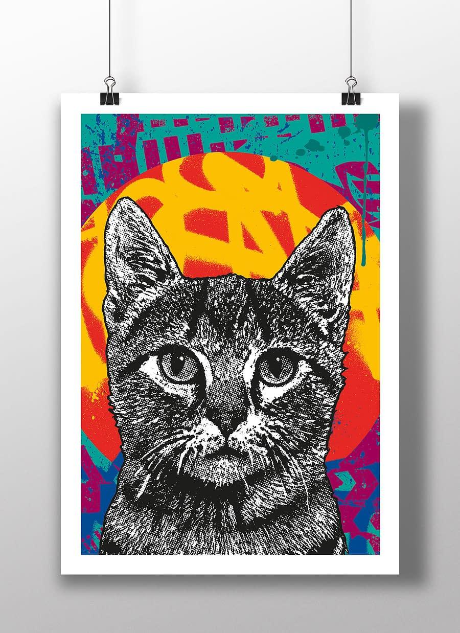 poster cat