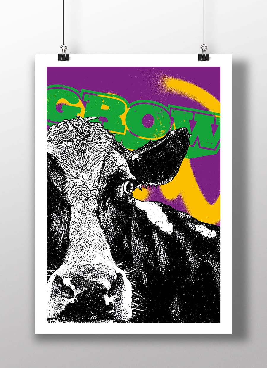 poster cow