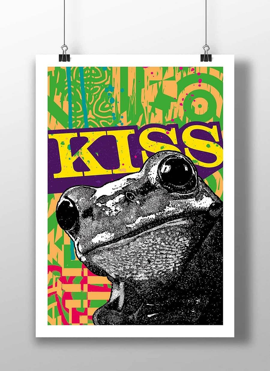 poster frog
