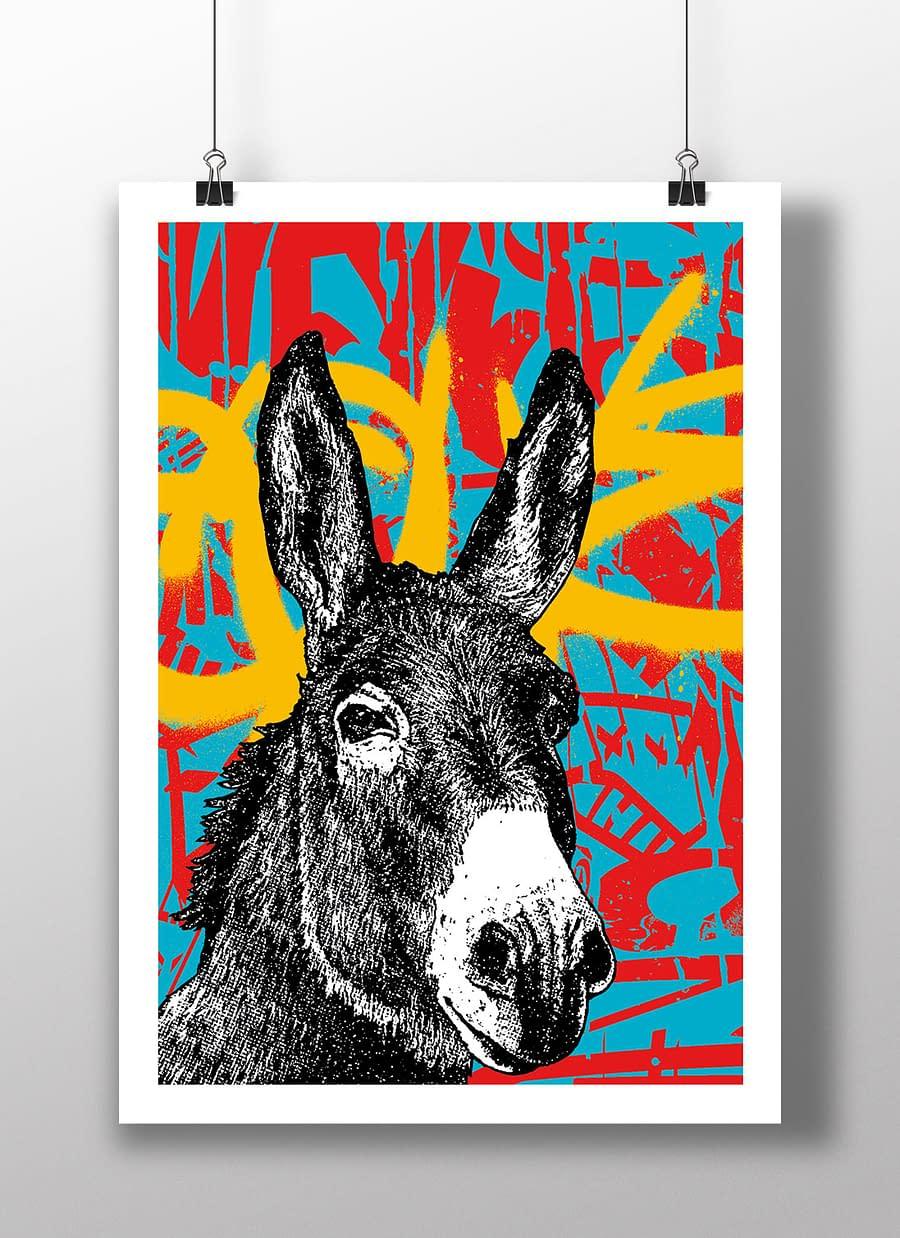 poster donkey