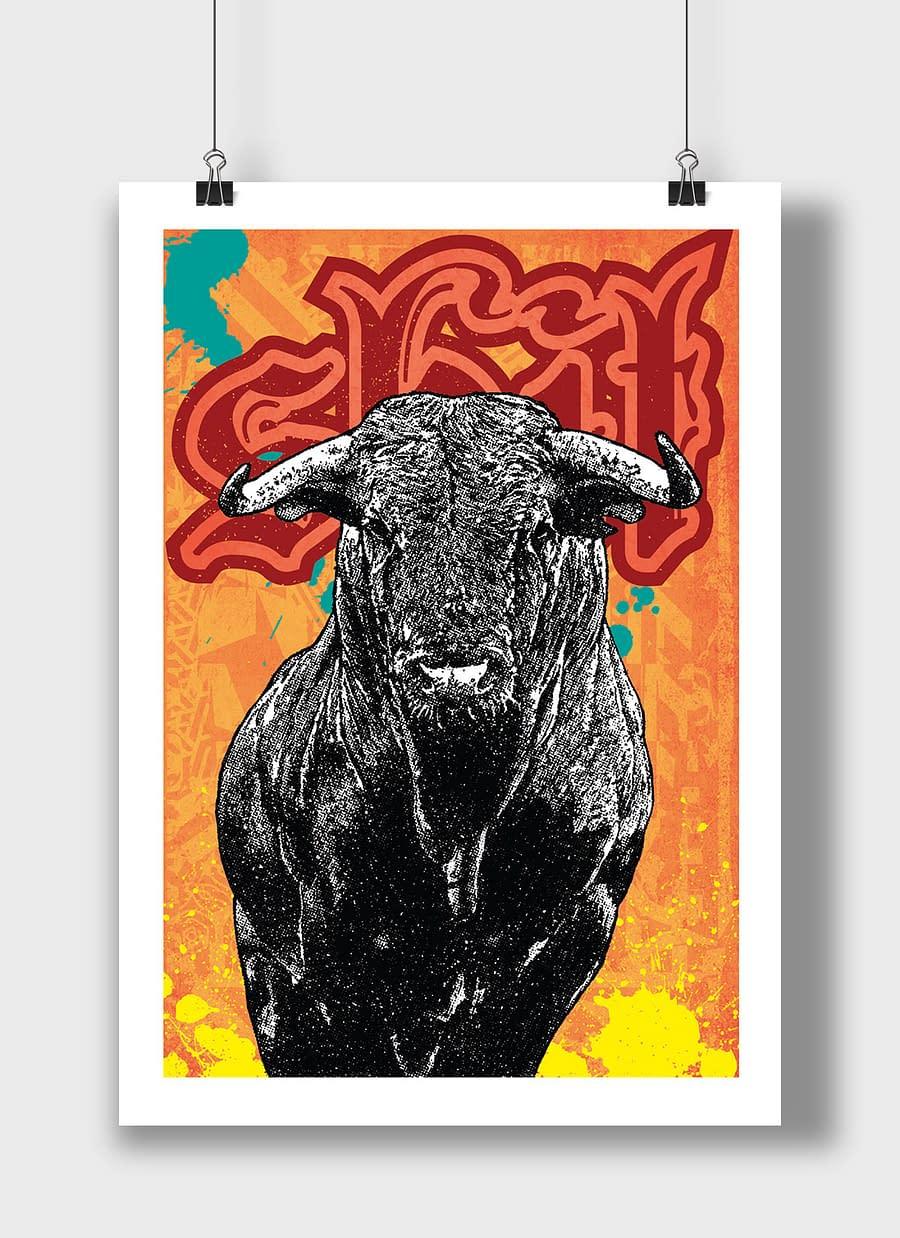 poster bull shit 2