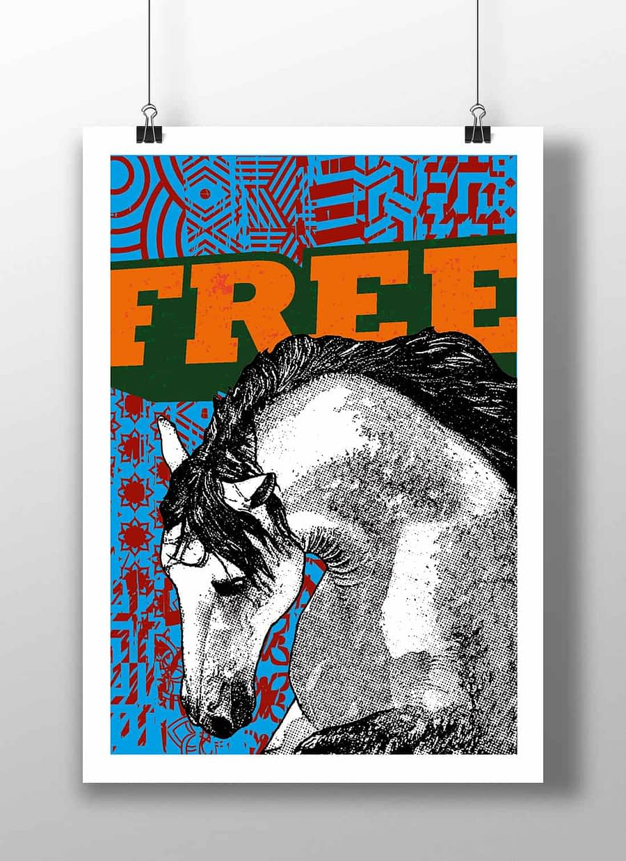 poster horse